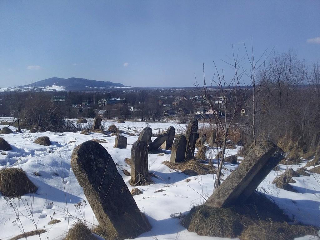старовинний єврейський цвинтар у Солотвині