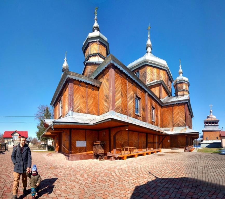 Солотвин - церква Різдва Пр. Богородиці
